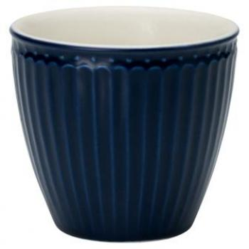 "Becher - Latte cup ""Alice dark blue"" von GreenGate EVERYDAY"