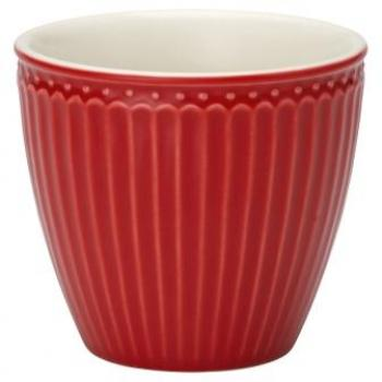 "Becher - Latte cup ""Alice red"" von GreenGate EVERYDAY"
