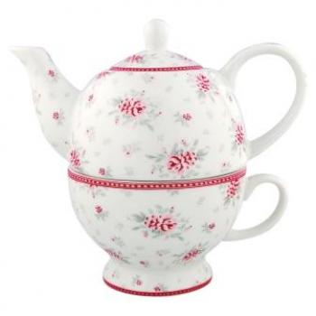 "Tea for one ""Flora white"" von GreenGate"