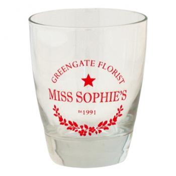 "Glas ""Sophie red"" von GreenGate"