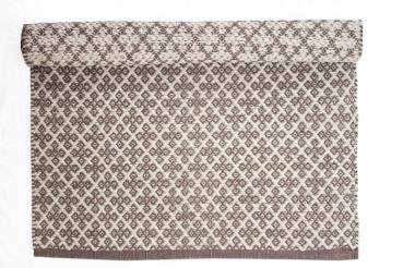 Teppich Grau Creme 60x90 Cm Baumwolle Im Onlineshop Versandkostenfrei