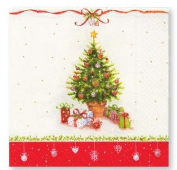 Weihnachtsbaum Rot.Servietten Mit Weihnachtsbaum Rot Grün
