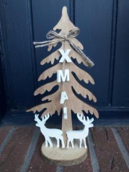 Weihnachtsdeko Baum Holz.Tannenbaum Aus Holz Xmas