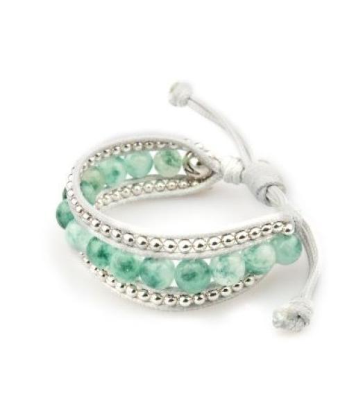 Armband aus Jade Perlen